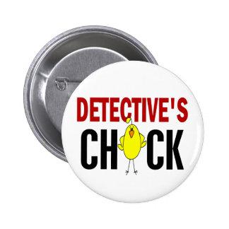 Detective's Chick 1 6 Cm Round Badge