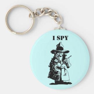 Detective Sly Ol Gumshoe Murder Mystery Sleuth Key Ring