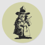 Detective Sly Ol Gumshoe Murder Mystery Sleuth Stickers