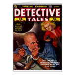 Detective Stories - The Farmer's Daughter Murder Greeting Card