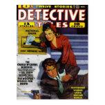 """Detective Tales"" Postcard"