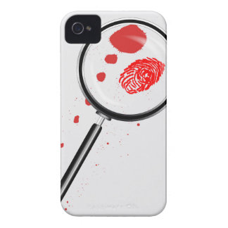 Detectives Magnifying Glass iPhone 4 Covers
