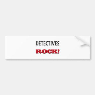 Detectives Rock Bumper Stickers
