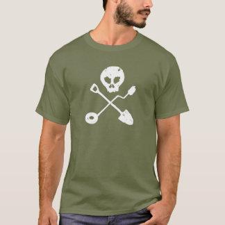 Detectorist Skull - Sondengänger head T-Shirt