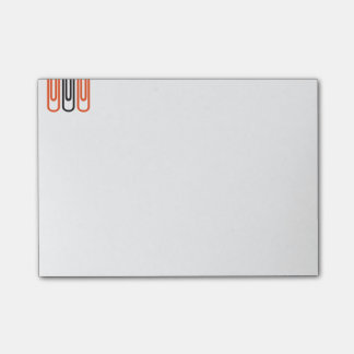 Detention notes block with motive for paper clip post-it® notes