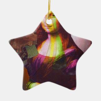 Deterioramento della Gioconda Christmas Ornament