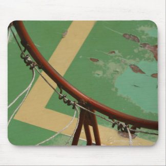 Deteriorating basketball hoop mouse mat