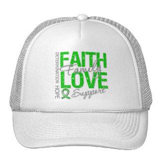 Determination Faith Family Traumatic Brain Injury Trucker Hats