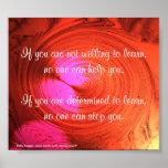 Determination - poster