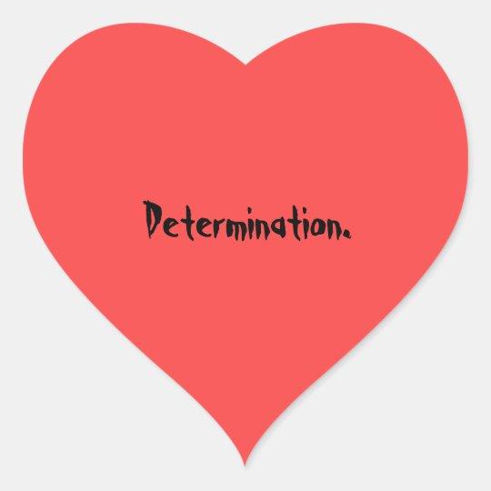 Determination Red Soul Sticker