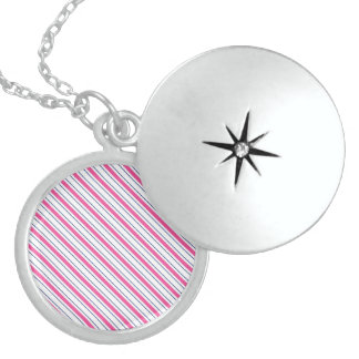 Determined Absolutely Light Novel Round Locket Necklace