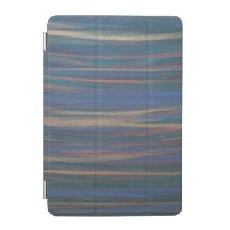 Determined Tech | Blue Gold Bronze Green Stripe iPad Mini Cover