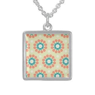 Determined Vital Communicative Enthusiastic Square Pendant Necklace