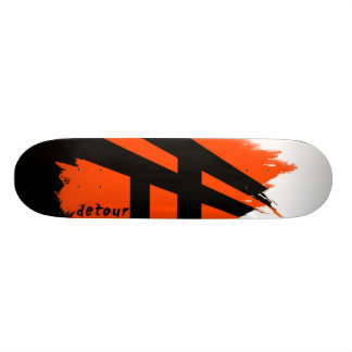 Detour Skateboards Logo Deck