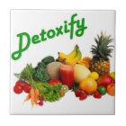 Detoxify Fruits and Vegetables Tile