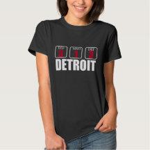 DETROIT 313 area code tee