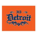 Detroit 313 post cards