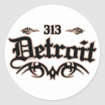 Detroit 313 stickers