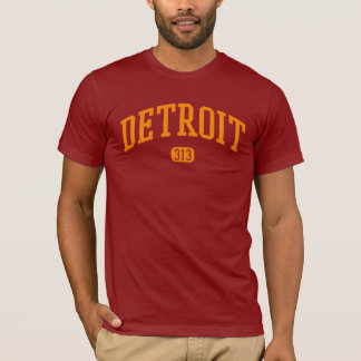 Detroit area code 313 T-Shirt
