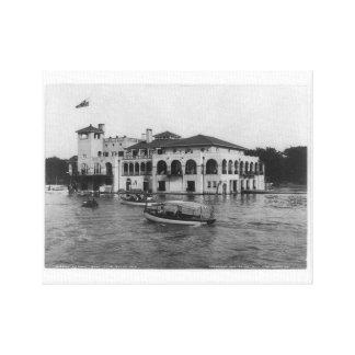 Detroit Boat Club, Belle Isle 1905 Canvas Print