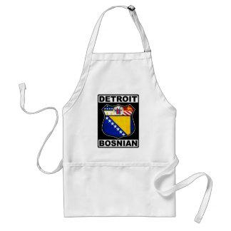 Detroit Bosnian American Apron