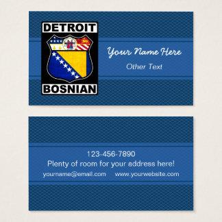 Detroit Bosnian American Business Cards