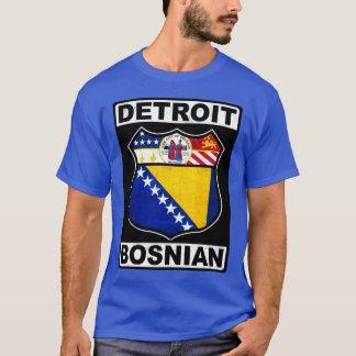 Detroit Bosnian American Design Tee Shirt