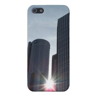 Detroit Buildings iPhone 4 Case