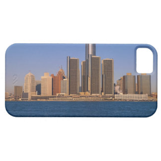 Detroit buildings on the water iPhone 5 cover