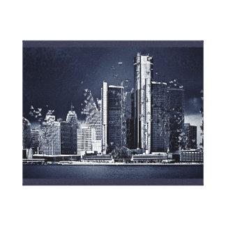 Detroit Canvas Print