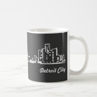 Detroit City Coffee Mug