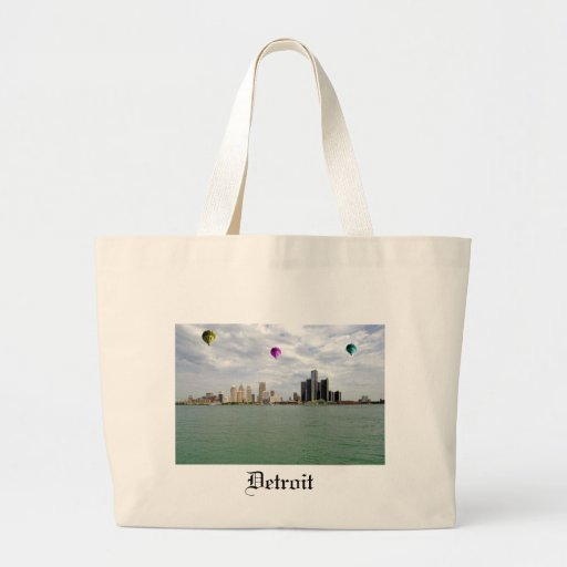 Detroit City Michigan Bag