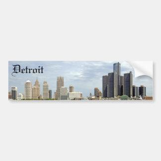Detroit City Michigan Bumper Sticker