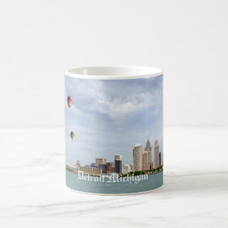 Detroit City Michigan Coffee Mug
