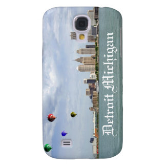 Detroit City Michigan Galaxy S4 Case