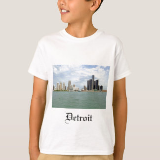 Detroit City Michigan T-Shirt