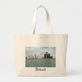 Detroit City Michigan Bags