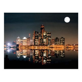 Detroit City Postcard