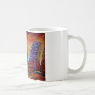 Detroit Cityscape - Mug
