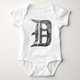 Detroit D wash Tshirt