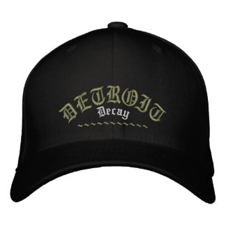 Detroit Decay (embroidered hat)