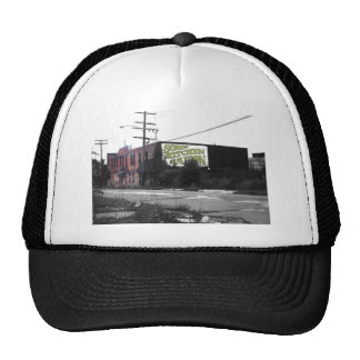 Detroit Downtown destroyed streets Trucker Hats