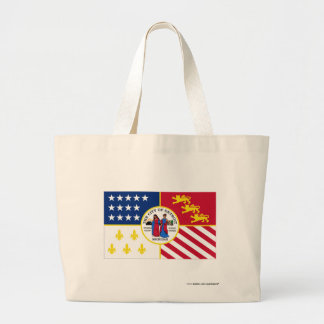Detroit Flag Jumbo Tote Bag