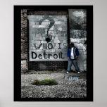 Detroit (i am) posters