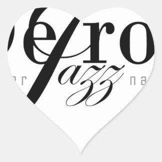 Detroit Intl Jazz Magazine Heart Sticker