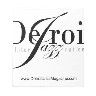 Detroit Intl Jazz Magazine Notepad