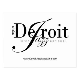 Detroit Intl Jazz Magazine Postcard