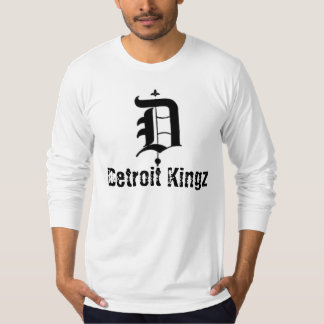 Detroit Kingz White Long Sleeve T T-Shirt
