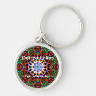 Detroit Lakes - Practically Perfect 4 Keychain