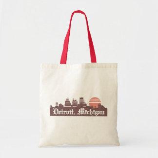 Detroit Linesky Budget Tote Bag